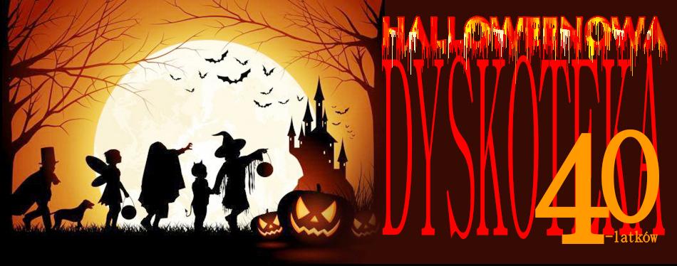 Halloweenowa dyskoteka