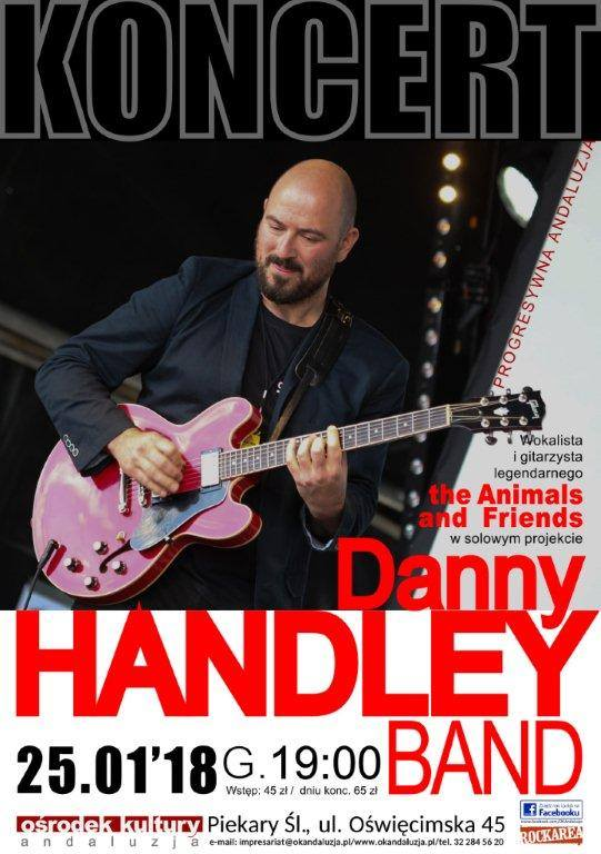 Danny HANDLEY 25.01.2018r.godz.19.00