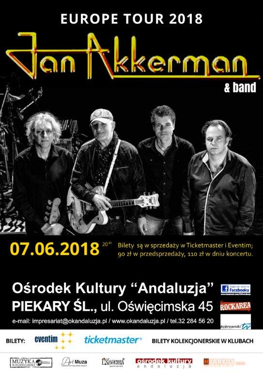 Jan Akkerman – 07.06.2018r. g.20:00