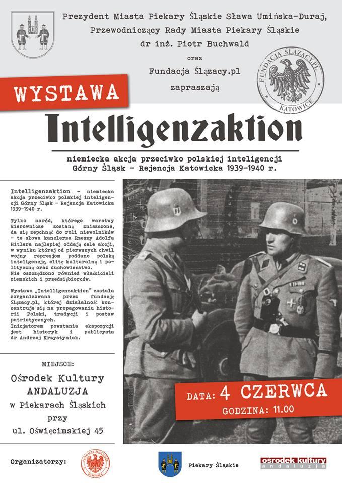 4.06.2018r. o godzinie 11.00 – otwarcie wystawy 'Intelligenzaktion'