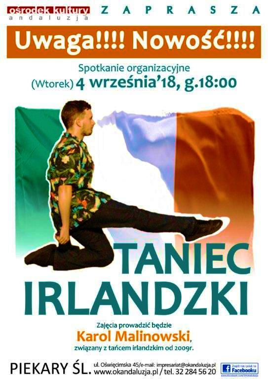 TANIEC IRLANDZKI :)