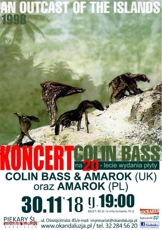 COLIN BASS & AMAROK (UK) oraz AMAROK (PL)