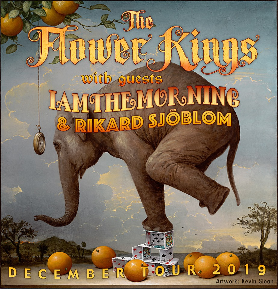 Wieczór z The Flower Kings, Iamthemorning oraz Rikardem Sjöblomem 03.12.2019r.