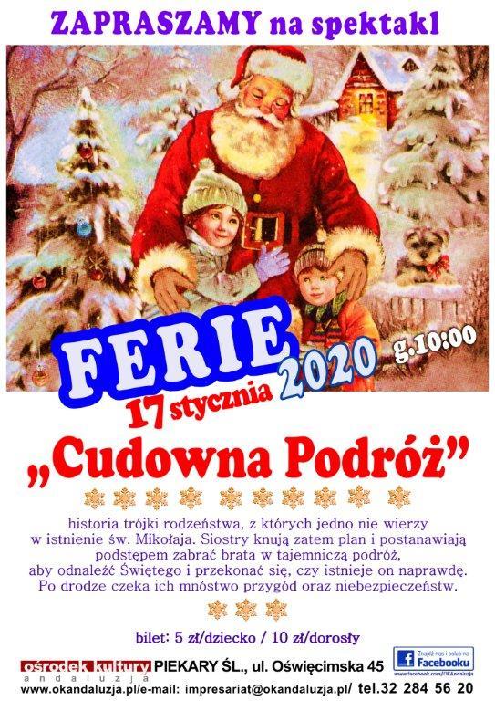 Zimowy spektakl na Ferie'2020 :)