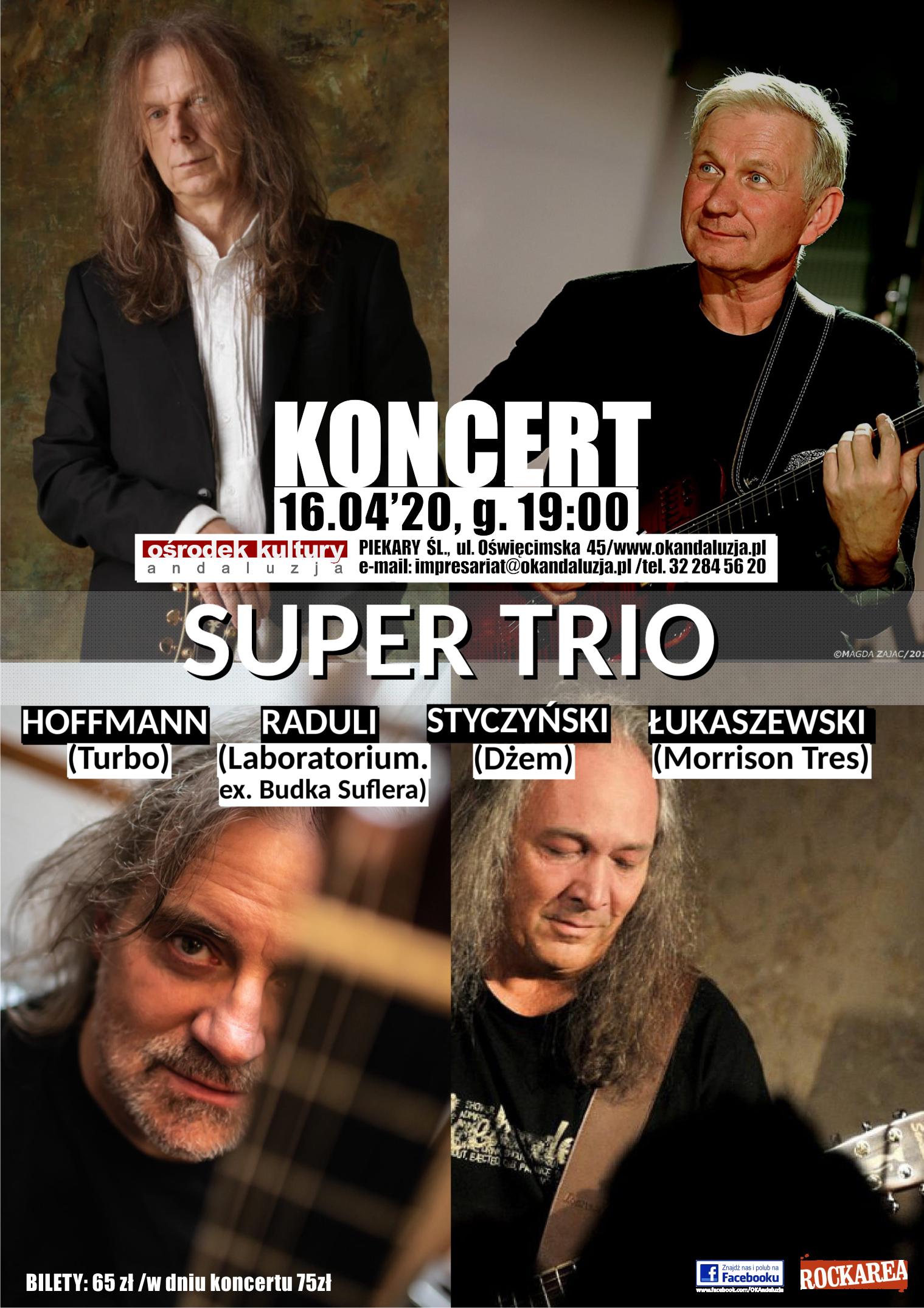 Koncert! SUPER TRIO :)