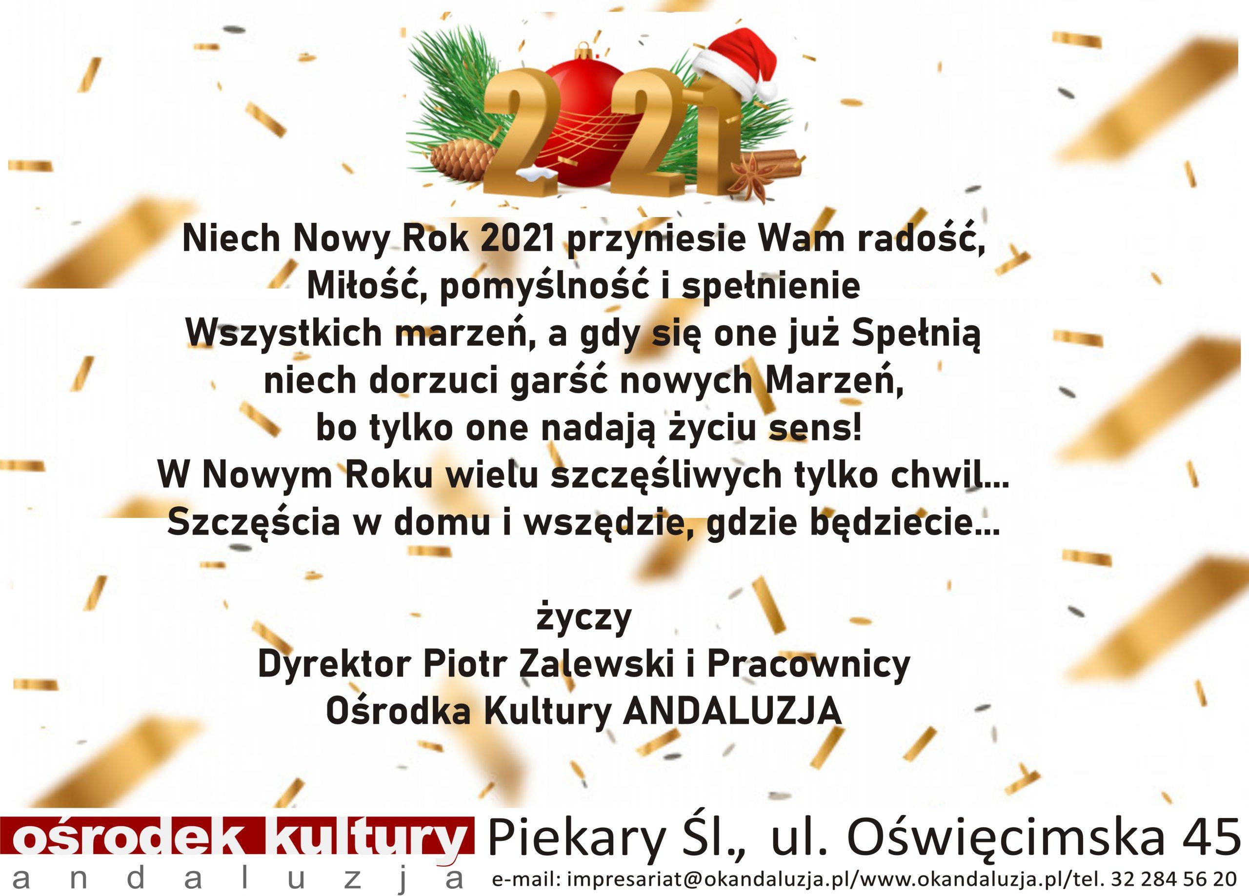 Wszystkiego Najlepszego w Nowym Roku !!