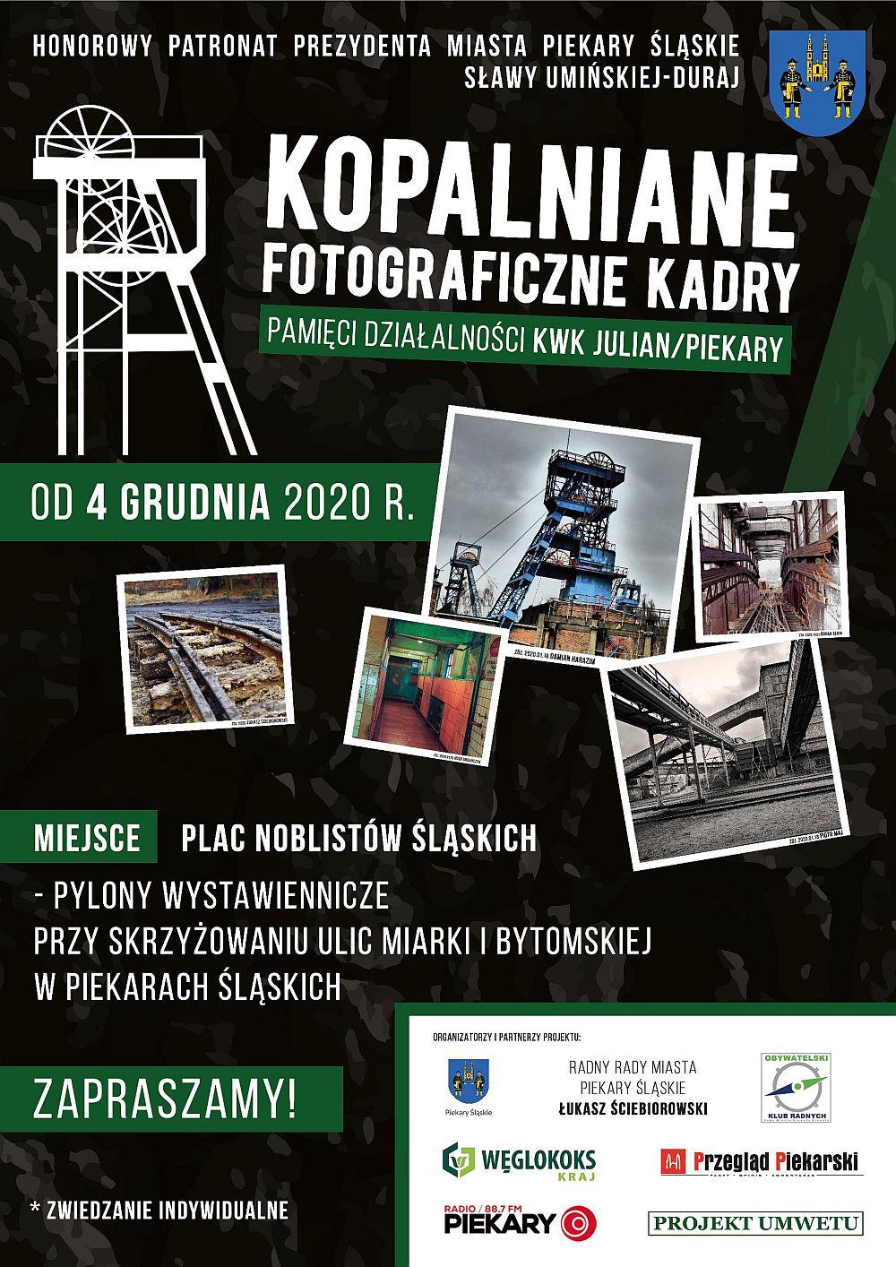 WYSTAWA Kopalniane Fotograficzne Kadry – POLECAMY!!!